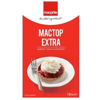 1 Litre Mactop Extra Whipped soft cream Doughnut Filling piping cake bakery 1l