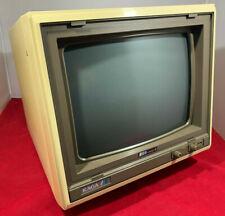 "Taxan Kaga RGB Vision-III 12"" Monitor KS12R301S-BN for Apple II Acorn inc Manual"