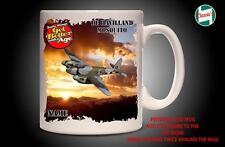 Personalised DE HAVILLAND MOSQUITO  RAF PLANE Mug Cup Dad Custom Gift - Add Name