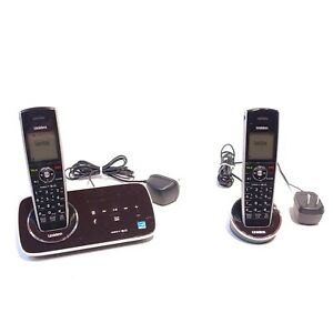 Uniden D2280-2 Cordless Phone/Answering System with 2 Cordless Handsets