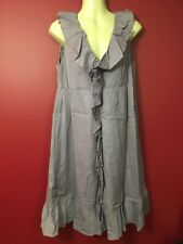 GAP Women's Mauve Sleeveless Ruffled Dress - Size 6 - NWT $64
