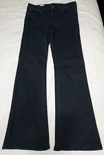 """GAP 1969 Womens Modern Flare Dark Blue Wash Jeans Size 31r Inseam 33.5"""""""