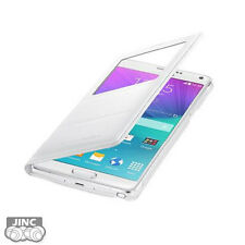 Genuine Samsung SM-N910F Galaxy Note4/Note 4 SVIEW/S-VIEW Flip Cover Case