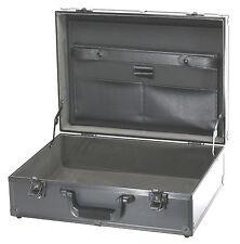 TZ Case PKG18B Brief Case Aluminum Frame and Panels Metal Riveted Corners