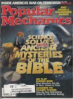 Popular Mechanics Magazine Dec 2001 Science Solves Ancient Mysteries Of Bible