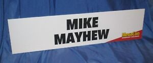 MIKE MAYHEW MegaCon 2018 Display Sign for Booth (Marvel/Captain America/Art)