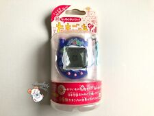 Tamagotchi Connection v3 Keitai Akai Navy Blue Hibiscus Flowers 2005 (US Seller)