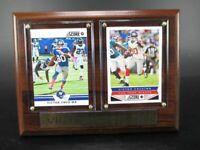 Victor Cruz New York Giants Holz Wandbild 20 cm,Plaque NFL Football