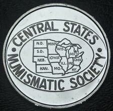2010 CENTRAL STATES NUMISMATIC SOCIETY MEDAL - 71st CSNS Convention Mill., WI.
