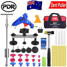 PDR Paintless Dent Puller Lifter Hammer Hail Removal Glue Gun Repair Rods Tools