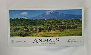 New Ken Duncan Kings of Kilimanjaro Jigsaw Puzzle Animals of the Wild 504 Pieces