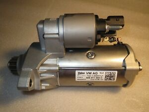 Original VW AG  Starter Valeo  02E 911022C Neu T5 T6 ....,,---,