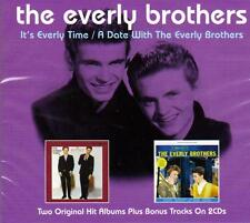 THE EVERLY BROTHERS - IT'S EVERLY TIME- A DATE WITH THE EVERLY BROTHERS(NEW 2CD)