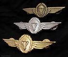 German Germany Army Airborne Jump Parachutist Lot of 3 Set Metal Wing Badge