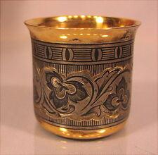 Alter Becher Silber 875 Tula Russland Russia