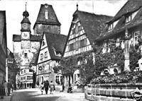 AK, Rothenburg ob der Tauber, Markusturm, 1963