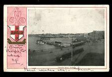 Australia SYDNEY Circular Quay + arms P&O Mail 1905 u/b PPC