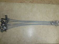 """12 Standard Berkshire Stakes W/ 18"""" 3/32nd Cable Anchors Trapping Traps Coyote"""
