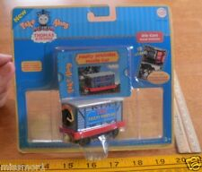Thomas the Tank Engine Faulty Whistles Movie car 2006 MIP die cast viewer