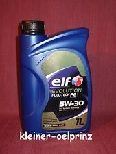 ELF EVOLUTION FULL-TECH FE 5W-30 OLIO MOTORE PER RENAULT (DPF) 1 LITRI RN 0720