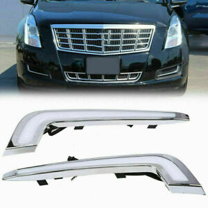 Fit for Cadillac XTS 2013–2017 Pre-facelift LED DRL Trim Daytime Running Lights