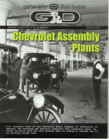Chevrolet Assembly Plants - G & D Generator Distributor Magazine, March 2012