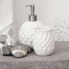 Lene Bjerre Luxury Ceramic Olivia Tumbler, gloss white 10cm x 7cm