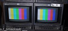 2x Sony SDI input e Composite BVM9045D 9 in (ca. 22.86 cm) monitor con 4:3. 16:9, pulizia