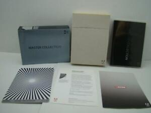 Preowned MAC ADOBE CREATIVE SUITE  4  MASTER COLLECTION  MAC PART # 65023370