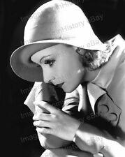 8x10 Print Greta Garbo Beautiful Hatted Portrait #5502907