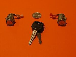 NEW DOOR LOCKS KEYED ALIKE SUIT 1988 to 1997 TOYOTA HIACE HILUX 4RUNNER