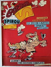 """b)SPIROU N°2411; """"Suicides"""" Le nouveau 421"""