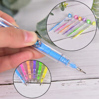 2X  Kawaii 0.7/0.5mm Mechanical Pencil With Eraser Gift Kids Teacher Student DD