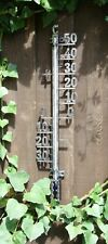 Outside in Design Ds1006 Small Metal Filigree Thermometer