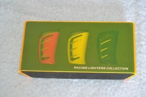 Set of 3 Marlboro Racing Lighter Collection with Box