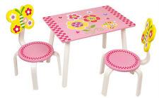 Tischset rosa  Kinderzimmer Kindermöbel Spielzimmer Tisch Stuhl