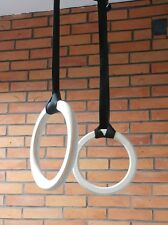 Oryginal MaxGym® Olympic Rings Wooden  Gymnastics Rings home fitness Gym 60