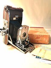 Vintage Mid-Century Polaroid Land Camera Model 95 Folding Bellows Camera
