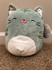 """8"""" Squishmallow The Cat Soft Plush Toy Pillow Kelly Toy NWT"""