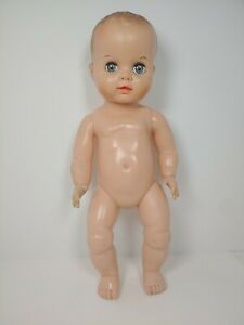 Vintage Uneeda Baby Doll Molded Hair Sleep Eyes Drink And Wet 316-33 14""
