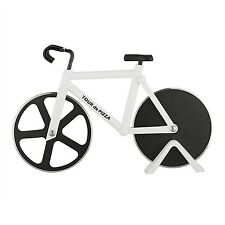 Bicycle Pizza Cutter - TOUR de PIZZA - Dual Stainless Steel Non-Stick Cutting...