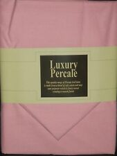 "Extra Deep 13"" 4FT 3/4 Bed Fitted Sheet With 2 Free Pillowcases- Pink"