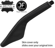 GREY STITCH CARBON FIBER VINYL HANDBRAKE BOOT FOR PORSCHE 924 944 968 75-95