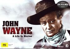 John Wayne: A Life in Movies (24 Films) Collector's Gift Set NEW R4 DVD