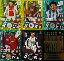 2020/21 TOPPS MATCH ATTAX EXTRA FOIL CARDS up to 50% off multi buy UPDATED 8/4