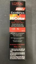 L'Oreal Excellence HiColor HiLights for Dark Hair 1.74 Oz # H8 Red Fire