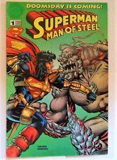 Superman - Man of steel 1995 #1 Comics  Bulgaria  BULGARIAN Edition Rare !!!