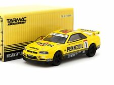 Tarmac Works x Greenlight Nissan Skyline GT-R R34 Pennzoil