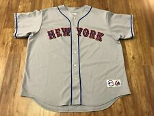 MENS 2XL - Vtg MLB New York Mets Baseball Majestic Sewn On Jersey