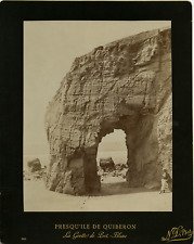 N. D. France, Presqu'ile de Quiberon, la Grotte de Port-Blanc Vintage album